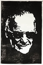 Stan Lee Handprinted Portrait