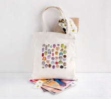 People Pattern Tote Bag