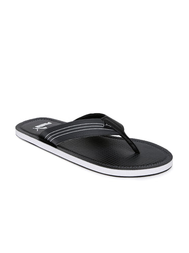 Puma Ketava GU IDP  Black and Dark Shadow Flipflops