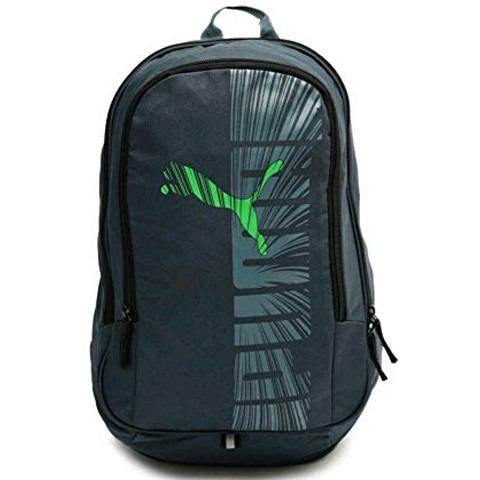 Puma Graphic Backpack - Ombre Blue- Island Green