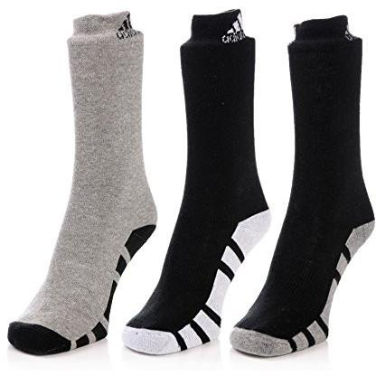 Adidas Men's Half Cushion Crew Socks - 3 pair pack