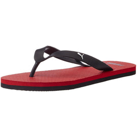 Puma Unisex OdiusDP High Risk Red and Black Flip Flops Thong Sandals