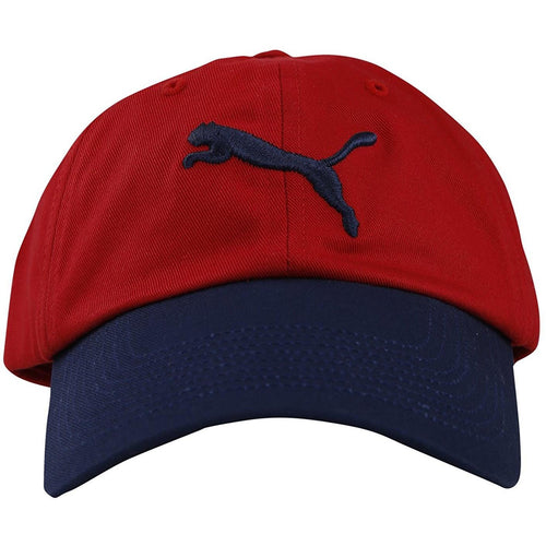 Puma Ess Cap - Barbados Cherry and Peacoat