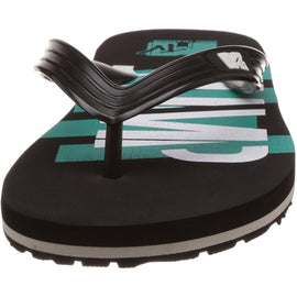 MTV Men's Black Flip Flops Thong Sandals