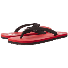 Puma Men's High Risk Red, White and Black Flip Flops Thong Sandals