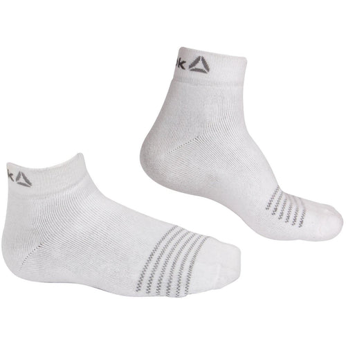 Reebok Full Cushion White Ankle socks - Pack of 3