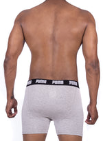 Puma Men's Grey Y Boxer Trunks