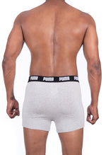 Puma Men's Grey Melange Boxers