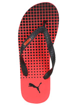 Puma Conik IDP High Risk Red and Black Flipflops