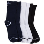 Wrangler Mens high Ankle socks - Pack of 3 (Peacoat/White/Black)