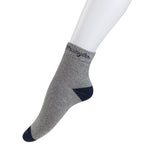 Wrangler Mens high Ankle Full Cushion Socks ( Peacoat/Medium Grey/Black)