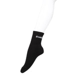 Reebok Full Cushion Black Ankle Socks - Pack of 3 (Navy/Grey Mel/Black)