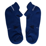 Reebok Half Cushion Low cut Socks - Pack of 3 ( Collegiate Navy/Impact Blue/Orange)