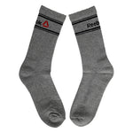 Reebok Half Cushion Crew Socks - Pack of 3 (Navy/Grey Mel/Black)