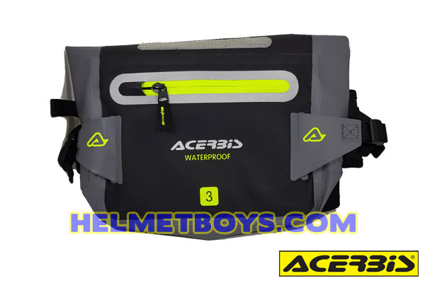 ACERBIS motorcycle waterproof waist pouch front view