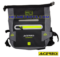 ACERBIS motorcycle waterproof waist pouch seal fold system
