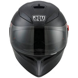 AGV K3 SV Full Face Helmet matt black front view