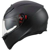 AGV K3 SV Full Face Helmet matt black side inner sunvisor