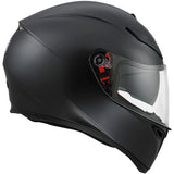 AGV K3 SV Full Face Helmet matt black side view