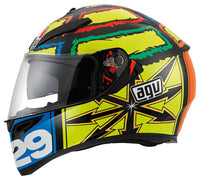 AGV K3 SV IANNONE Motorcycle Full Face Helmet side view