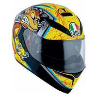 AGV K3 SV BULEGA Full Face motorcycle Helmet slant view