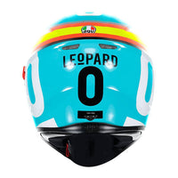 AGV K3 SV LOCATELLI Full Face Helmet back view