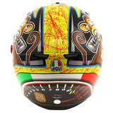 AGV K3 SV BULEGA Full Face motorcycle Helmet back view