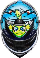 AGV K3 SV Full Face Motorcycle Helmet MISANO VALENTINO ROSSI top view
