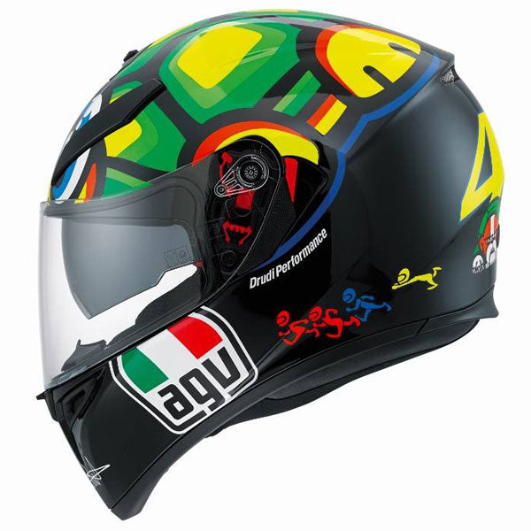 AGV K3 SV Full Face Motorcycle Helmet TARTARUGA side view