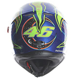 AGV K3 SV ROSSI 5 Continent Full Face Helmet back view