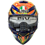 AGV K3 SV ROSSI 5 Continent Full Face Helmet front view