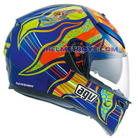 AGV K3 SV ROSSI 5 Continent Full Face Helmet side view