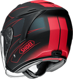 Shoei JFORCE 4 motorcycle Helmet graphic MODERNO-TC1 back view