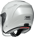 Shoei JFORCE 4 motorcycle Helmet white back