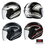 KABUTO AVAND2 STAID open face motorcycle helmet overall view
