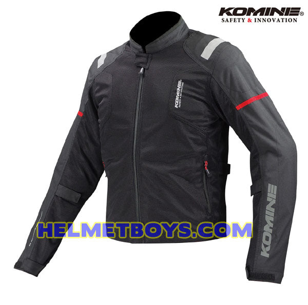 KOMINE JK116 Armour Protection Riding Jacket black