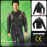 KOMINE JK116 Armour Protection Riding Jacket CE approved