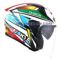 KYT NFJ Motorcycle Helmet KASMA DANIEL right side view