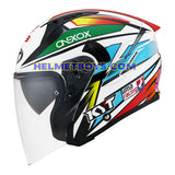 KYT NFJ Motorcycle Helmet KASMA DANIEL side view