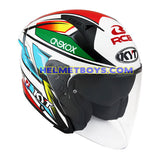 KYT NFJ Motorcycle Helmet KASMA DANIEL slant right view