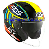 KYT NFJ Motorcycle Helmet XAVIER SIMEON right slant view
