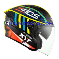 KYT NFJ Motorcycle Helmet XAVIER SIMEON right view