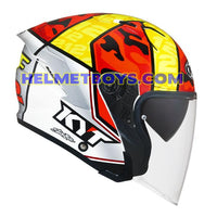 KYT NFJ Motorcycle Helmet XAVI FORES right side view