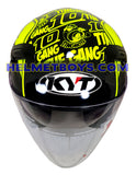 KYT VENOM sunvisor motorcycle helmet THITIPONG front view