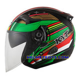 KYT VENOM Motorcycle Helmet NINJA KID side view
