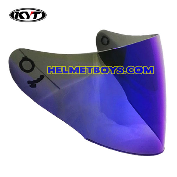 KYT VENOM IRIDIUM BLUE tinted helmet visor shield