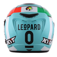 KYT VENOM Motorcycle Helmet ANDREA LOCATELLI back view
