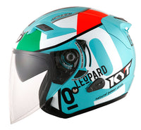 KYT VENOM Motorcycle Helmet ANDREA LOCATELLI side view