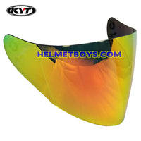 KYT VENOM IRIDIUM ORANGE tinted helmet visor shield