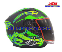 LAZER JH3 Motorcycle Helmet Sunvisor GALAXY right side